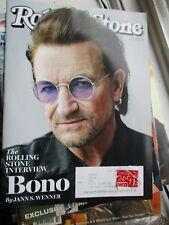 U2 Bono Interview Double Issue Rolling Stone Magazine Jan 18 2018 Camila Cabello
