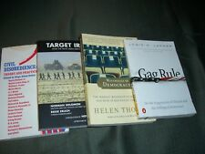 Lot 4 Books Gag Rule+ Target 0023078707; 1893956393; 9780743267823; 0143035029
