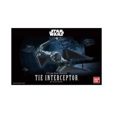 Bandai 0208099 Star Wars 1/72 Tie Interceptor Brand New