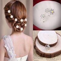 Delicate The Bride Hair Pins Headwear Shiny Hair Pins Headwear Wedding 12Pcs