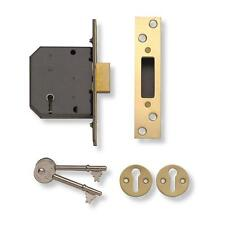 Yale 5-Lever Deadlock External Wooden Door Gate HIGH SECURITY Outdoor Dead Lock