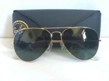 RAY BAN AVIATOR CLASSIC RB3025 L0205 58 Gold / Green Classic G-15 ITALY)