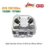 TZ-30 WY 150cc 58mm/61mm Cylinder Head Assy GY6 Parts Chinese Scooter Motorcycle