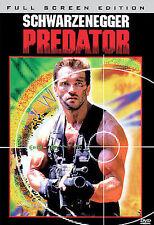Predator (DVD, 2006, 2-Disc Set, Full Frame Sensormatic)