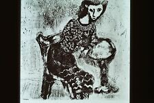 MARC CHAGALL- THE CAT METAMORPHOSED INTO A WOMAN 1927-31 ETCHING 35MM ART SLIDE