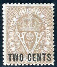 BRITISCH KOLUMBIEN 1868 7 ungummiert TADELLOS selten ! (K9393