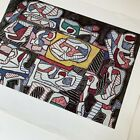 """Jean Dubuffet Lithograph Print """"Parade of Objects"""" 1960's 28.5x22.5 Shorewood"""