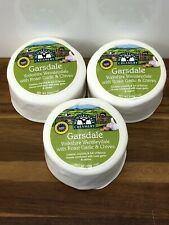 Garsdale Wensleydale Cheese With Roast Garlic & Chives 3 X 200g Christmas