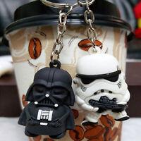 FOR Star War Keychain Vader Darth Storm Trooper Action Keyring Bag Car keyring