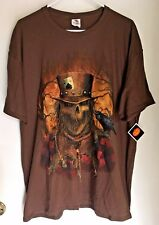 SCARECROW HAUNTED HARVEST IN THE CORNFIELD HALLOWEEN PARTY T-SHIRT (XL) NEW 2017