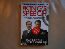 The King's Speech: signed by Mark Logue and Peter Conradi