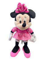 IMC Disney Happy Sounds Minnie Soft Plush Toy Giggling Sneezing 32cm Tall