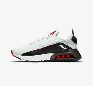 Nike Air Max 2090 UK Size 6 Women's Trainers Running White Black Shoes
