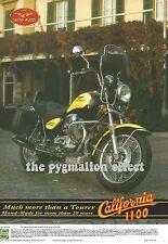 Moto Guzzi California 1100 - Original 1995 Single-Page Vintage Magazine Advert