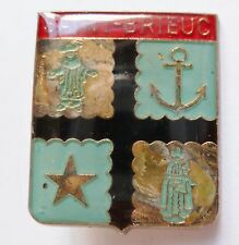 Insigne Religieux DIOCÈSE SAINT BRIEUC Bretagne ORIGINAL Catholic French Badge 2