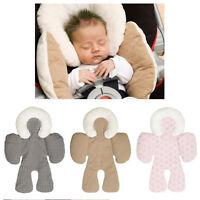 Newborn Baby Full Head&Body Support Stroller Pillow for Car Seat, Pram-Liner