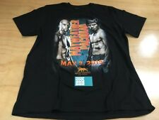 MGM Grand Manny Pacquiao Floyd Mayweather Fight Short Sleeve Tee Shirt Black 2XL