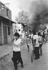 8x10 Print 1968 Vietnamese Escape Bombs Saigon Vietnam #73256222