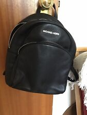 Brand New Ladies Black Leather Michael Kors Backpack