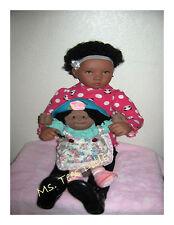 """Reborn Shaunte 30"""" Ethnic/Blasian Toddler Doll"""