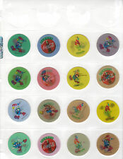 POGS COCA-COLA OLYMPICS TRICKER 1996 COMPLETE SET OF 30