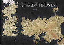 GAME of Thrones (mappa di Westeros & essos) GIGANTE muro poster