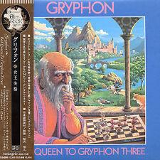 Gryphon Red Queen to Gryphon Three Japan Mini LP CD ARC-7031 Prog Concept Album