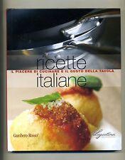 RICETTE ITALIANE-PIACERE DI CUCINARE E GUSTO DELLA TAVOLA # Gambero Rosso 2008