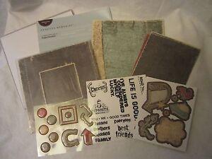 Creative Memories Scrapbook Recordable Paper Album Kit Rugged Everyday