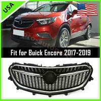 Front Upper Bumper Grille Grill Assembly Chrome For 2017 2018 2019 Buick Encore