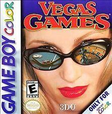 Nintendo GameBoy Color GBC Game Cartridge VEGAS GAMES