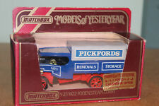 MATCHBOX MOY 1:72 Y-27 1922 FODEN STEAM LORRY - PICKFORDS