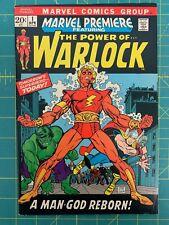 MARVEL PREMIERE #1 - 5.0 - 1972 / 1ST APPEARANCE AS WARLOCK / HIGH EVOLUTIONARY