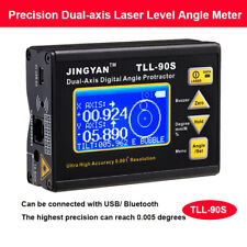 Digital Dual-axis Level Protractor Inclinometer Laser Level Angle Finder Meter