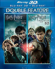 Harry Potter and the Deathly Hallows: Double Feature: 3D Blu Ray, Parts 1 & 2