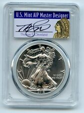 2016 (S) $1 American Silver Eagle 1oz PCGS MS70 Thomas Cleveland Native