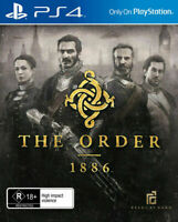 PS4 The Order 1886 AUSTRALIAN For Playstation 4 BRAND NEW SEALER