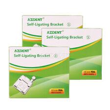 3xdental Orthodontic Self Ligating Brackets Braces 3 4 5 Hooks Roth 022 Azdent