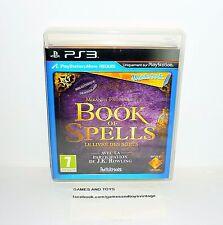JEU PS3 WONDERBOOK BOOK OF SPELLS LE LIVRE DES SORTS + MICRO