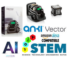 Anki Vector Interactive Learning Robot Fun Educational Futuristic STEM AI Toy