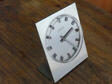 RRRare  MODERNISM BAUHAUS DESK CLOCK KIENZLE AUTOMATIC/ ELECTRIC GERMANY