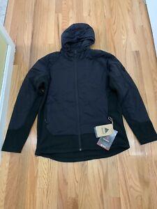 Mens Burton Snowboards Minturn Hybrid Jacket True Blk Htr Sz L NWT $169.95