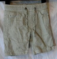 Boys Next Light Grey Speckle Cotton Drawstring Waist Summer Shorts Age 3 Years