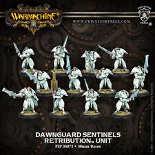 Warmachine: Retribution of Scyrah Dawnguard Sentinels Unit (12) PIP 35073