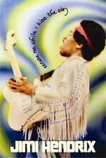 Jimi Hendrix - Poster - Live Sky - 24x36 - Licensed New In Plastic Rolled