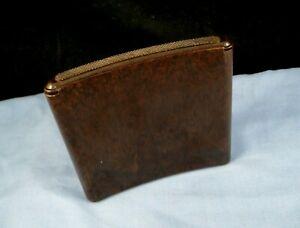 VINTAGE ART DECO BAKELITE SPRING LOADED CIGARETTE CASE POCKET BOX SPRINGBOKS