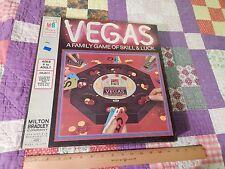 '73 Milton Bradley Vegas Gambling Game (Complete) w/ Cards & Chips (Free Ship.)