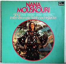 """12"""" Vinyl - NANA MOUSKOURI singt internationale Weihnachtslieder"""