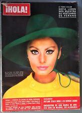 ¡HOLA! nº 1194: Sofía loren, Mia Farrow-Frank Sinatra, Twiggy, Vivien Leigh...