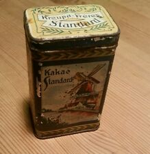 Kakao standard Antik Blechdose  Werbung Litho kroupa freres Kaufladen Tante Emma